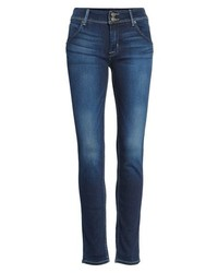 Hudson Jeans Elysian Collin Mid Rise Skinny Jeans