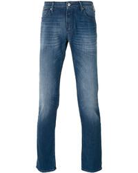 Armani Jeans Folded Hem Skinny Jeans