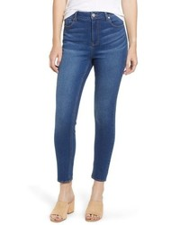 Tinsel High Waist Ankle Skinny Jeans