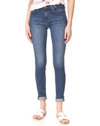 Current/Elliott High Waisted Skinny Jeans