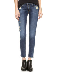 Rag & Bone Jean The Frayed Skinny Jeans
