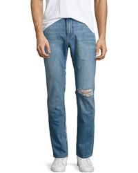 DL1961 Premium Denim Cooper Relaxed Skinny Jeans Blue