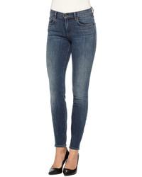 Proenza Schouler Ps J5 Ultra Skinny Jeans Worn Indigo