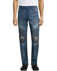 True Religion Rocco Classic Studded Skinny Jeans