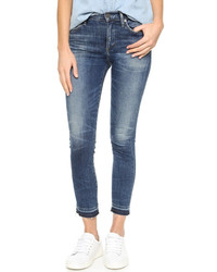 Rocket crop high rise skinny jeans medium 529573