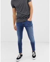 Jack & Jones Skinny Fit Jeans In Blue