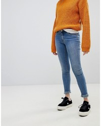 Only Skinny Jean With Frayed Hem