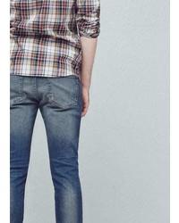 Mango Outlet Skinny Vintage Wash Jude Jeans