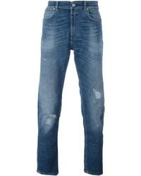Stonewashed skinny jeans medium 640921