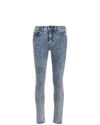 Victoria Beckham Stonewashed Slim Fit Jeans