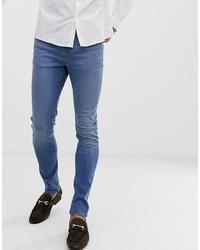 ASOS DESIGN Super Skinny Jeans In Light Wash