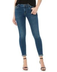 Sam Edelman The Kitten Raw Edge Skinny Jeans