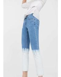 Mango Tie Dye Skinny Jeans
