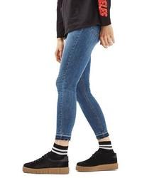 Topshop Jamie Crop Skinny Jeans