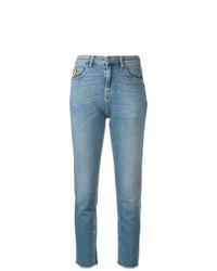 Mira Mikati Zig Zag Skinny Jeans