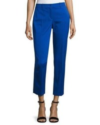 Michl kors samantha gabardine skinny ankle pants medium 5053805