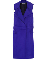 Blue Sleeveless Coat