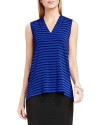 Sleeveless v neck top medium 740240