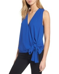 Tie front sleeveless top medium 4951648