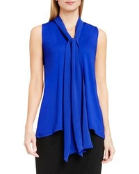 Tie v neck sleeveless top medium 740137