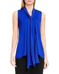 Tie v neck sleeveless top medium 740137