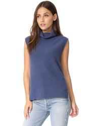 Sleeveless turtleneck sweater medium 5086921