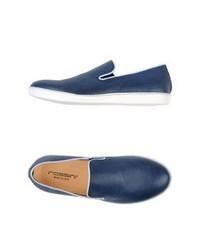 Blue slip on sneakers original 9744341