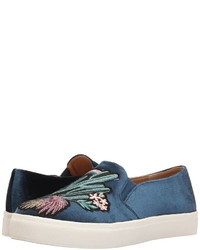 Chinese Laundry Dirty Laundry Jiana Velvet Fashion Sneaker Slip On Shoes