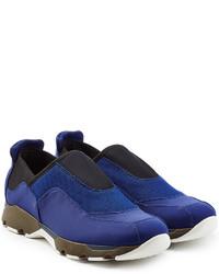 Marni Fabric Slip On Sneakers