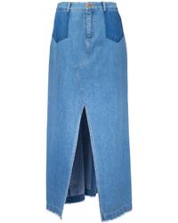 Front slit maxi skirt medium 3732812