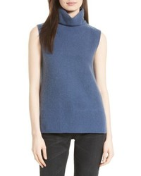 Side slit cashmere turtleneck medium 4468579