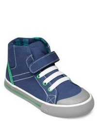 See Kai Run Boys High Top Lace Canvas Sneakers