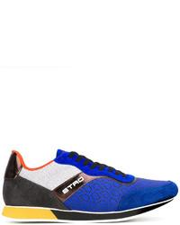 Etro Contrast Panel Sneakers