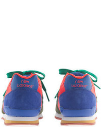 J.Crew Kids New Balance For Crewcuts K996 Lace Up Sneakers In Pesto