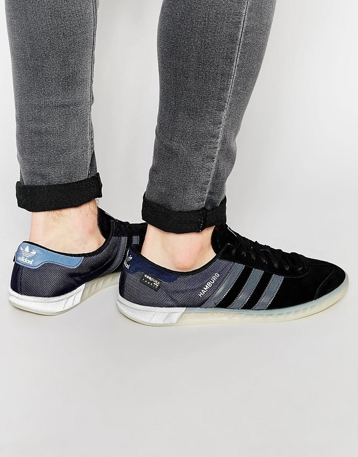 ... adidas Originals Hamburg Sneakers S75505 ...