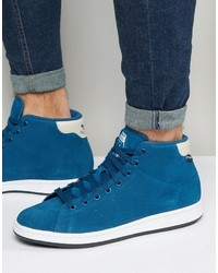 adidas Originals Stan Smith Winterized Sneakers In Blue S80499