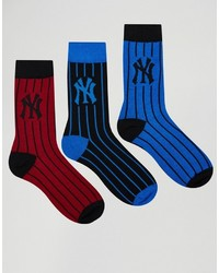 Pepe Jeans Nyy 3 Pack Socks