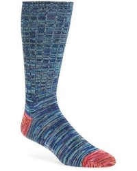 Quadtwist cotton blend socks medium 739589