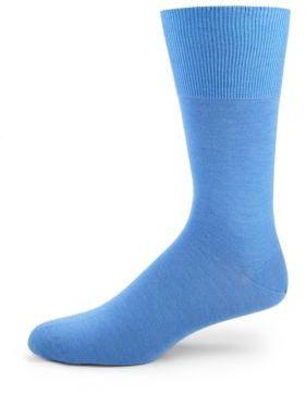 4c5b856c74d Falke Solid Cotton Knit Socks, $39 | Saks Fifth Avenue | Lookastic.com