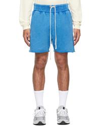 Les Tien Blue Yacht Shorts