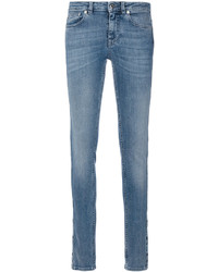 Givenchy Star Panel Skinny Jeans