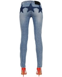 Givenchy Cotton Denim Jeans W Stars