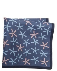 Z Zegna Star Fish Pocket Square