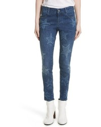 Stella McCartney Skinny Ankle Grazer Star Jeans