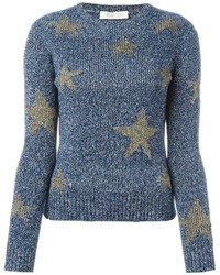 Valentino Long Sleeved Star Jumper