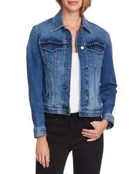 Vince Camuto Studded Denim Jacket