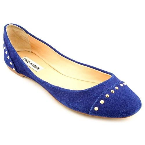 Steve Madden Kstudd Blue Suede Flats Shoes Uk 6 | Where To Buy