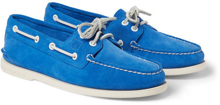 Sperry Top Sider Suede Boat Shoes, $85
