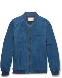Suede bomber jacket medium 3690637