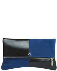 Esoteric Suede Leather Clutch